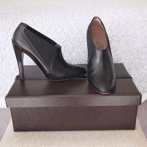 ALAIA Paris leather ankle boots - Sz 37 Black
